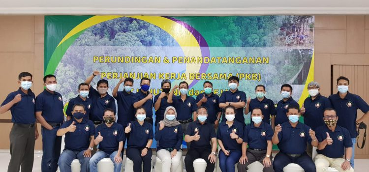 Perundingan & Penandatanganan Perjanjian Kerja Bersama PT Inhutani I